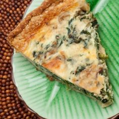 Quiche de Espinaca y Champiñón Quiches, Pizza, Savory Tart, Cooking Recipes, Healthy Recipes, Catering, Cravings, Food And Drink, Tasty