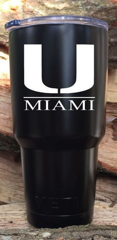 HIGH QUALITY PRECISION CUT VINYL DECAL Similar To Miami Hurricanes Football Team_Line