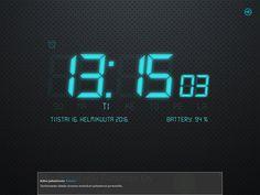 Malli 007; Laite toimii myös digitaalisena kellona