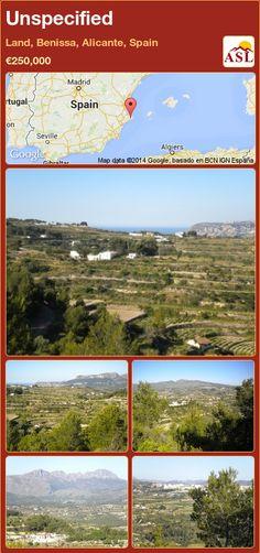 Unspecified in Land, Benissa, Alicante, Spain ►€250,000 #PropertyForSaleInSpain