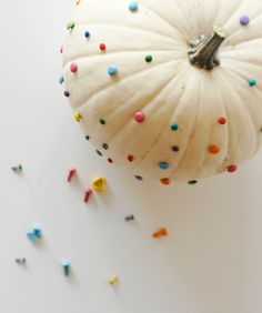 Brad Confetti Pumpkin