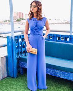 """1,444 Likes, 12 Comments - Nicole Pinheiro (@nicolepinheiro) on Instagram: """" Blue Lovers  #ootd com macacão que veste incrivelmente bem da @fedraoficial  #jumpsuit…"""""""