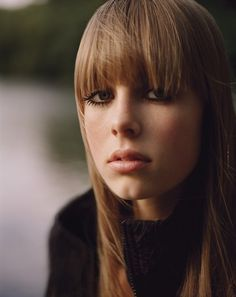 Edie Campbell (photo: Alasdair McLellan), November 2011 issue.
