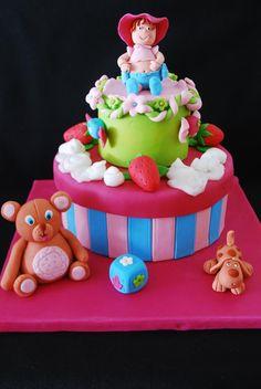 tarta decorada de fondant
