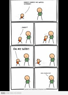 144 Brutally Hilarious Comics For People Who Like Dark Humor (Cyanide & Happiness) Funny Cute, Really Funny, The Funny, Crazy Funny, Memes Humor, Stupid Funny Memes, Funny Posts, Funny Stuff, Funny Troll