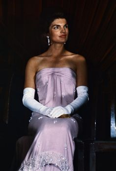 Proof That Cocktail-Length Gloves Are as Classic as Classic Gets: When we think elegant evening attire, our train of thought goes somewhat like this: ball gown, sparkly jewels, and long, glamorous gloves.