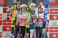 Oberstdorf stage of legendary Four Hills Tournament with Simon Amman on top 2013-2014