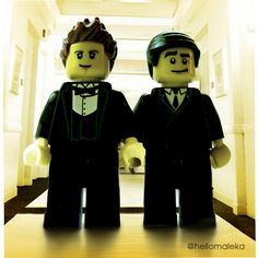 Klaine #tbt, Lego-style. Chris Colfer, Darren Criss, Best Tv, Glee, Legos, Making Out, Bing Images, Mickey Mouse, Disney Characters