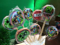Kit Festa Personalizada Minecraft | ADescolada | Elo7