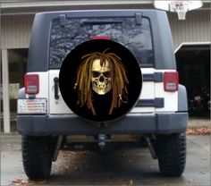 SUV Trailer Accessories Hand Drawn Pirate Excellent Universal Spare Wheel Tire Cover Fit for Truck Camper Van,Jeep,Trailer Rv
