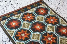 Items similar to Vintage Norwegian handmade Embroidery embroidered wall hanging Tapestry Home Decor Cottage Decor Norway Scandianvian on Etsy Luxury Interior Design, Tapestry Wall Hanging, Fun Stuff, Needlework, Stitches, Bohemian Rug, Embroidery, Rugs, Unique Jewelry