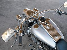 2003 Harley Davidson Road King Top View Photo 6