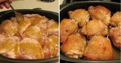 Fenséges ízesítésű, omlós csirkecombok, 45 perc alatt elkészíthető finomság!     Hozzávalók:     6 csirkecomb (alsó, felső tet...