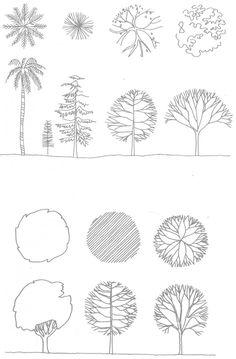 super Ideas for landscape architecture presentation plan autocad Landscape Architecture Model, Architecture Concept Drawings, Architecture Sketchbook, Architecture Graphics, Landscape Plans, Landscape Design, Plan Autocad, Architectural Trees, Tree Plan