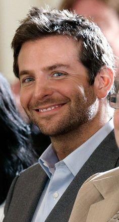 Bradley Cooper's smile is gosh darn cute