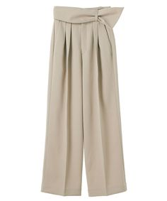 WIDE BELT PANTS|CLANE|CLANE OFFICIAL ONLINE STORE