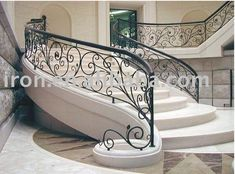 Simple scrollwork in iron