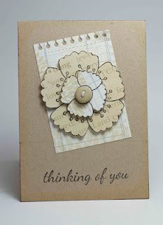 Homemade Cards by Erin: thinking of you