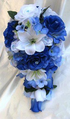 teardrop bouquets