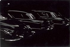 LOUIS FAURER  Park Avenue Garage, N.Y.C., 1950  gelatin silver print, printed 1981  signed, titled and dated in ink (in the margin); signed, titled and dated in pencil (on the verso) 8½ x 12 3/8in. (21.6 x 31.4cm.)
