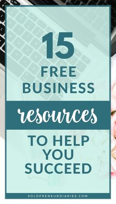 15 totally free resources for small business owners. Download free printables with marketing tips, social media tips, and more! Find free spreadsheets for time management and financial tracking. Plus free e-courses on business planning and productivity! Business Planner, Business Tips, Online Business, Business Writing, Business Coaching, Small Business Resources, Time Management Tips, Business Management, Entrepreneur