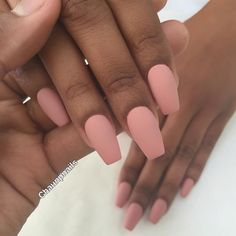 """Medium Ballerinas @enameldiction"" nails"