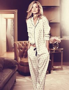 pyjamas chauds femme, pyjama femme pas cher, victoria secret model