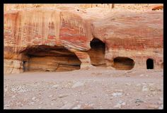 Caves of Petra Jordan   Petra Caves   Flickr - Photo Sharing!