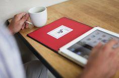 Dodo iPad case - like a moleskine!