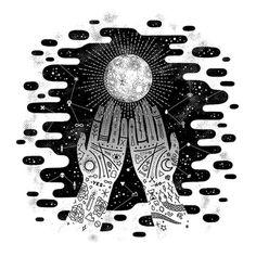 lordofmasks:  Guiding Light | Camille Chew #Surrealism #art Surréalisme #arte…