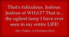 Ralphie Parker's Mom, one of 5 Great Moms from Christmas Movies - Experienced Bad Mom