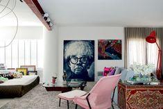 A cobertura de 360 m² do arquiteto - Casa Vogue | Interiores