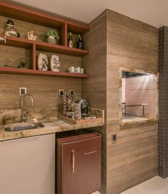 Homer Decor, Rooftop Design, Grill Design, Modern Loft, Bar Grill, Outdoor Kitchen Design, Apartment Interior Design, Bathroom Medicine Cabinet, Sweet Home