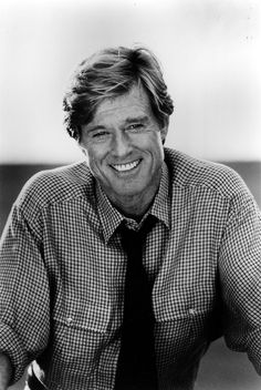 Robert Redford ~ Blonde men were usually not my faves, but this one sure made the list of favorites!