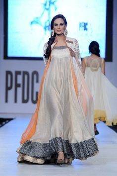 Asifa and Nabeel at PFDC Sunsilk Fashion Week in Lahore Source by fashion indian India Fashion, Ethnic Fashion, Fashion Week, Asian Fashion, Pakistani Outfits, Indian Outfits, Desi Clothes, Couture Week, Indian Attire