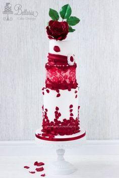 Red roses valentine wedding cake.jpg