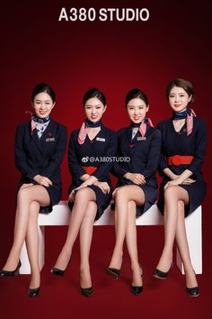 ✈✈✈✈ ✈ ✈✈✈✈ Flight Attendant Hot, Airline Attendant, Air Hostage, Airline Uniforms, Maid Cosplay, Pantyhose Legs, Cabin Crew, Sexy Stockings, South Korean Girls