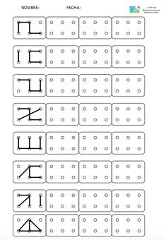 Preschool Writing, Preschool Learning Activities, Preschool Printables, Alphabet Activities, Coding For Kids, Math For Kids, Visual Perception Activities, Kindergarten Math Worksheets, Fun Worksheets For Kids