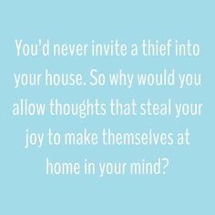 Intrusive thoughts...