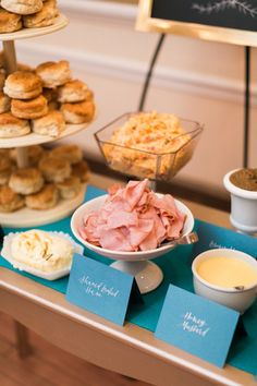 Texas Wedding with a Biscuit Bar by Elisabeth Carol – Southern Weddings – brunch Southern Wedding Food, Southern Bridal Showers, Southern Weddings, Wedding Brunch Reception, Wedding Catering, Biscuit Bar, Biscuit Recipe, Party Platters, Tapas