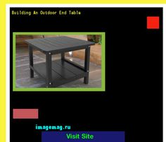 Building An Outdoor End Table 191714 - The Best Image Search
