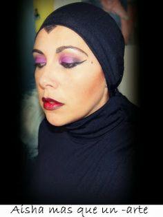 """Aisha mas que un -arte: Maquillaje : """"Madrastra de Blancanieves"""""""