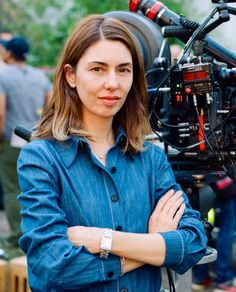 Sofia Coppola shot by Andrew Durham on the set of The Beguiled 2017