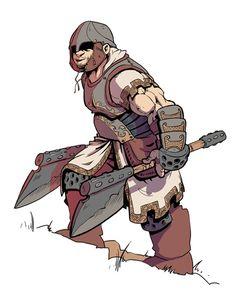 http://fikey.deviantart.com/art/Axe-warrior-195890152