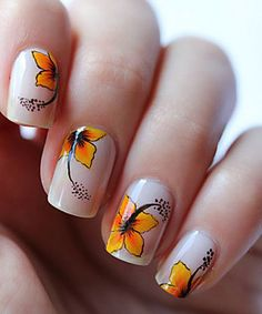50 Flower Nail Art Designs Amazing nails, varnish and nail designs to inspire a product photographer based in Bury St. Edmunds, Suffolk www.EricYoungPhot… Source by Cute Nail Art, Beautiful Nail Art, Cute Nails, Pretty Nails, Beautiful Flowers, Flower Nail Designs, Flower Nail Art, Nail Art Designs, Diy Flower
