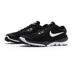 Nike Flex Supreme Tr 4 Womens 819026-002 Black White Training Shoes Size 7.5