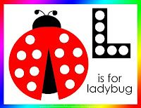 Letter L for Ladybug | Confessions of a Homeschooler