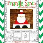 Santa Claus is comin' to town!  With this little packet, your little ones will create unique triangle Santas... and complete fun printables, too!  ...