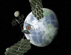 SBSP would differ from current solar collection methods in that the means used to collect energy would reside on an orbiting satellite instead of on Earth's surface. Some projected benefits of such a system are a higher collection rate and a longer collection period due to the lack of a diffusing atmosphere and night time in space