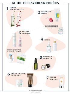 La routine beauté coréenne (ou rituel du layering ) est un protocole de soins élaboré, visant à retrouver une peau équilibrée et radieuse. Il s'articule en plusieurs étapes, dont le nombre varie à votre guise. Testé et approuvé par nos expertes K-beauty, voici le guide des gestes essentiels du layering pour prendre soin de votre peau. #korean #kbeauty #koreanbeauty #greenbeauty #cleanbeauty #layering #koreanskincare #koreanskincareroutine #koreanskincaresteps #ab #asianbeauty